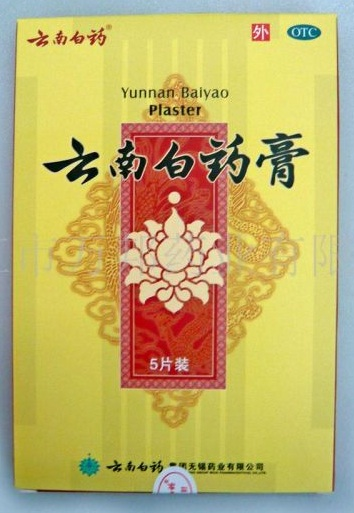 Yunnan Baiyao Plaster 10 boxes - 50 plasters - Click Image to Close